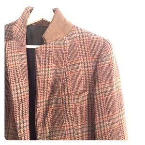 Vintage Tweed Jacket Blazer 2 Two Button